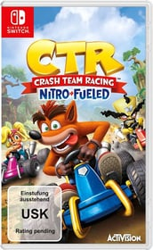 NSW - CTR Crash Team Racing - Nitro-Fueled Box 785300142857 Lingua Francese Piattaforma Nintendo Switch N. figura 1