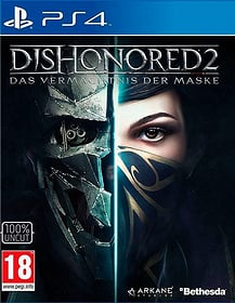 PS4 - Dishonored 2 D Box 785300140030 Photo no. 1