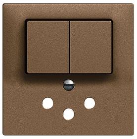 Edizio Due UP Combinaison petite 1xT12 Set de recouvrement Feller 612200900000 Photo no. 1