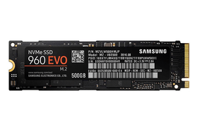 SSD 960 EVO 500Go M.2 2280 Disque Dur Interne SSD Samsung 785300125100 Photo no. 1