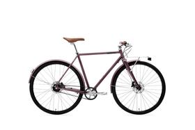 Ristretto Speedster Citybike Urban/ Lifestyle Creme 463371005588 Farbe bordeaux Rahmengrösse 55 Bild Nr. 1