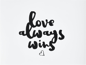 LOVE ALWAYS WINS Poster 431842100000 N. figura 1