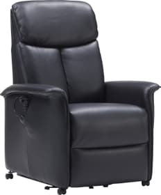 CARL Relaxsessel 402482300000 Grösse B: 80.0 cm x T: 82.0 cm x H: 108.0 cm Farbe Schwarz Bild Nr. 1