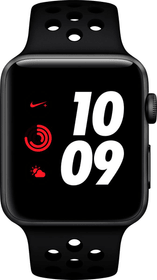 Watch Nike+ Series 3 GPS+Cellular 42mm Space Grey Aluminium Case Anthracite Black Nike Sport Band Smartwatch Apple 785300139125 Photo no. 1