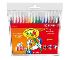 Fasermaler STABILO® power, 18 Stifte Stabilo 665322100000 Bild Nr. 1
