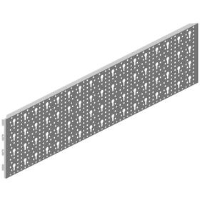 Lochwand 800 x 200 mm weiss Regalsysteme ELEMENTSYSTEM 603435800000 Bild Nr. 1