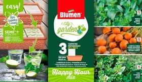 Happy Hour Mix 3 St. 20x20cm Sementi di verdura Blumen 650233900000 N. figura 1