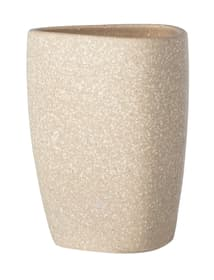 Keramik Zahnputzbecher Pion beige WENKO 674073500000 Bild Nr. 1