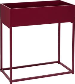 ZELDA Tavolino accbile 407427200030 Dimensioni L: 48.0 cm x P: 25.0 cm x A: 50.0 cm Colore Bordeau N. figura 1