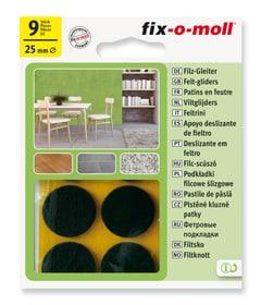 Filzgleiter 3 mm / Ø 25 mm 9 x Filzgleiter Fix-O-Moll 607067700000 Bild Nr. 1