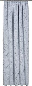 LINUS Rideau opaque prêt à poser 430282522480 Couleur Gris Dimensions L: 140.0 cm x H: 270.0 cm Photo no. 1