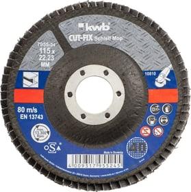 CUT-FIX® Schleifmop für Metall ø 115 mm, K40 kwb 610522000000 Bild Nr. 1