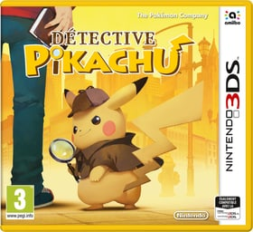 3DS - Meisterdetektiv Pikachu (F) Box 785300132200 Bild Nr. 1