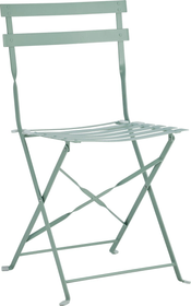 PAGAN Chaise pilable 408005800062 Dimensions L: 45.0 cm x P: 33.5 cm x H: 82.8 cm Couleur Vert moyen Photo no. 1
