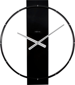 Horloge Murale Carl Noir 50.8 x 58.2 Horologe murale NexTime 785300138513 Photo no. 1