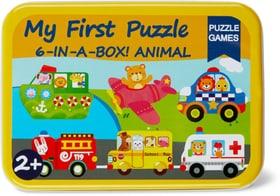 Woody Blechdosen Mit Holzpuzzle Verkehrw Puzzles 747327800000 Photo no. 1
