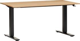 FLEXCUBE ECCO Table réglable en hauteur 401909000000 Dimensions L: 140.0 cm x P: 80.0 cm x H: 73.0 cm Couleur Chêne Photo no. 1