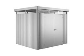 Gerätehaus High Line 3, Doppeltüre Biohort 647178600000 Farbe Silber-Metallic Bild Nr. 1