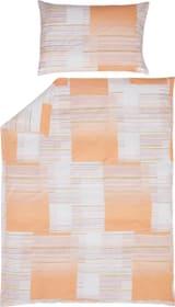 CARINA Federa per cuscino percalle 451303910629 Colore Albicocca Dimensioni L: 65.0 cm x A: 65.0 cm N. figura 1
