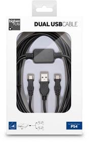 Dual USB-Kabel, 3m (PS4) Cavo Bigben 785300129585 N. figura 1