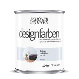 Designfarbe Lichtblau 100 ml Wandfarbe Schöner Wohnen 660990700000 Inhalt 100.0 ml Bild Nr. 1
