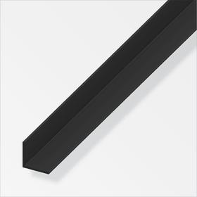 Winkel-Profil gleichschenklig 1.5 x 20 x 20 mm PVC schwarz 1 m alfer 605034700000 Bild Nr. 1