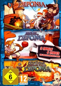 PC - Pyramide: Deponia Family Pack (D) Box 785300131300 Bild Nr. 1