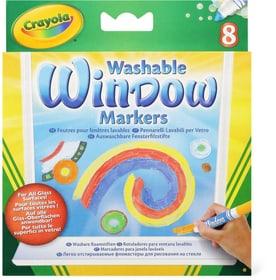 8 pennarelli per finestre Colorare Crayola 746104400000 N. figura 1