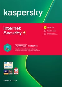 Internet Security (5 PC) [PC/Mac/Android] (D/F/I) Kaspersky 785300146378 Photo no. 1