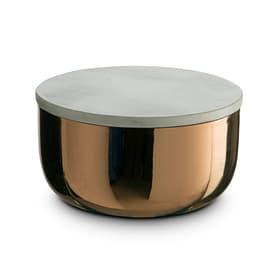 MARBLE Scatola portaoggetti 386212300000 Dimensioni L: 12.0 cm x P: 12.0 cm x A: 7.0 cm Colore Color rame N. figura 1