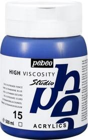 Pébéo High Viscosity Studio 500ml Pebeo 663534271015 Farbe Ultramarin Dunkel Bild Nr. 1