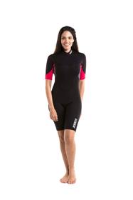 PERTH 3/2 MM SHORTY Damen-Neopren Anzug JOBE 464725300229 Farbe pink Grösse XS Bild-Nr. 1