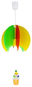 Pallone con Kasper Sospensione per bambini Elobra 615094500000 N. figura 1