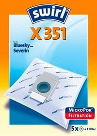 X351 AirSpace sacs à poussière