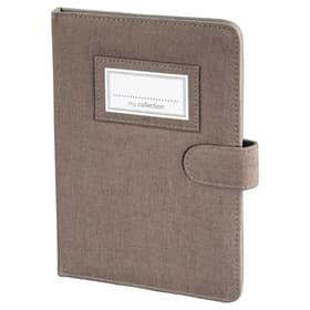 """Portfolio """"Leinen"""" für eBook-Reader bis 15,24 cm (6""""), Braun"""