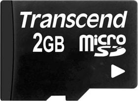 microSD Card 2GB ohne Adapter Speicherkarte Transcend 785300149105 Bild Nr. 1