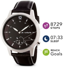 Runtastic Moment Classic silber