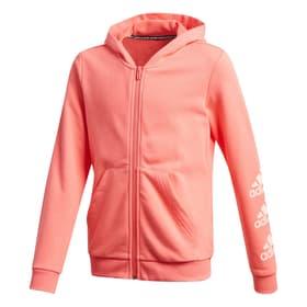 Must Haves Logo Fullzip Hoodie Veste à capuche pour fille Adidas 466801414057 Taille 140 Couleur corail Photo no. 1