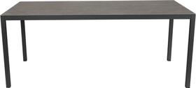 LOCARNO, 160 cm, struttura antracite, piano Ceramica Tavolo 753193016080 Taglio L: 160.0 cm x L: 80.0 cm x A: 74.0 cm Colore Grigio Struttura N. figura 1