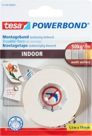 Ruban de montage Indoor Colle de montage Tesa 663060400000 Couleur Jaune Taille L: 1.5 m x L: 19.0 mm Photo no. 1