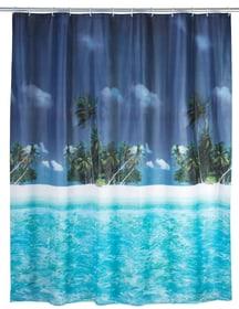 Duschvorhang Palmenstrand WENKO 674004600000 Bild Nr. 1