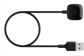 Versa 3/Sense Ladekabel Schwarz Ladekabel Fitbit 785300156850 Bild Nr. 1