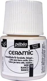 PÉBÉO Ceramic Keramikmalfarbe 10 Weiss 45ml Pebeo 663510002100 Farbe Weiss Bild Nr. 1
