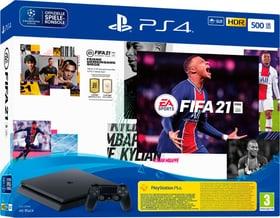 PlayStation 4 500GB Slim inkl. FIFA 21 Spielkonsole Sony 785446400000 Bild Nr. 1