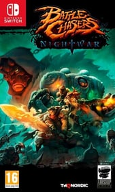 Switch - Battle Chasers: Nightwar (F/I) Box 785300128981 Photo no. 1