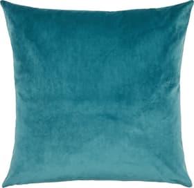 ANGELO Housse de coussin décoratif 450725140840 Couleur Bleu Dimensions L: 45.0 cm x H: 45.0 cm Photo no. 1