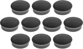 Aimant Discofix Mini 19mm noir 10 pcs. Tableau blanc Magnetoplan 785300154955 Photo no. 1