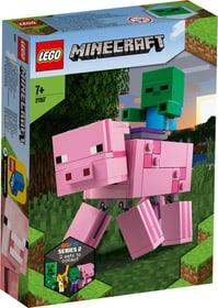 Minecraft 21157 BigFig Schwein mit Zombiebaby LEGO® 748740100000 Bild Nr. 1