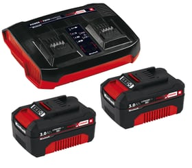 2x 3,0 Ah & Twincharger PXC Starter-Kit Ladegerät Einhell 616098900000 Bild Nr. 1