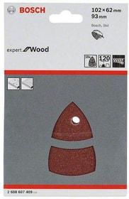 Schleifblatt Set P120 Holz Bosch 9061228269 Bild Nr. 1